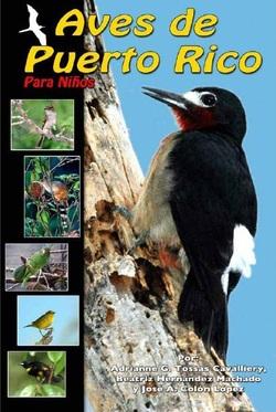 Portada libro Aves de Puerto Rico para Niños